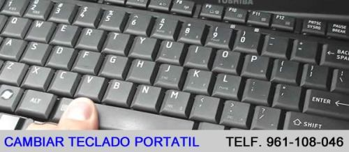 cambiar teclado portatil